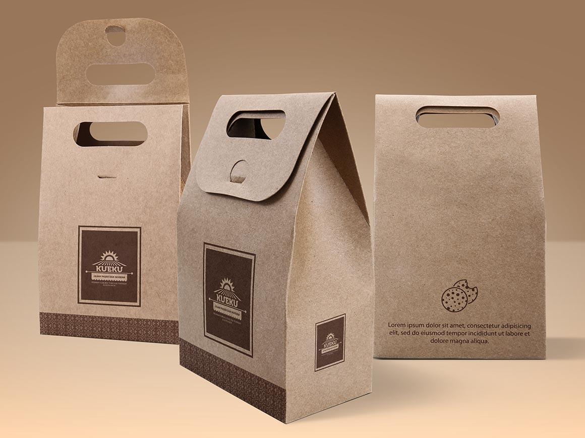 Paper Bag Free Mockups