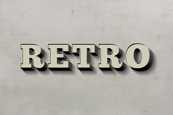 retro-text-effect-56392
