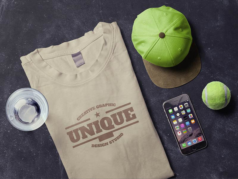 t-shirt-iphone-mockup-scene
