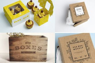 30 Only the Best Free PSD Boxes MockUps for you and your ideas!