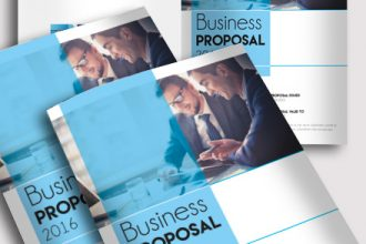 Free Business Proposal Brochure 8 pages A4