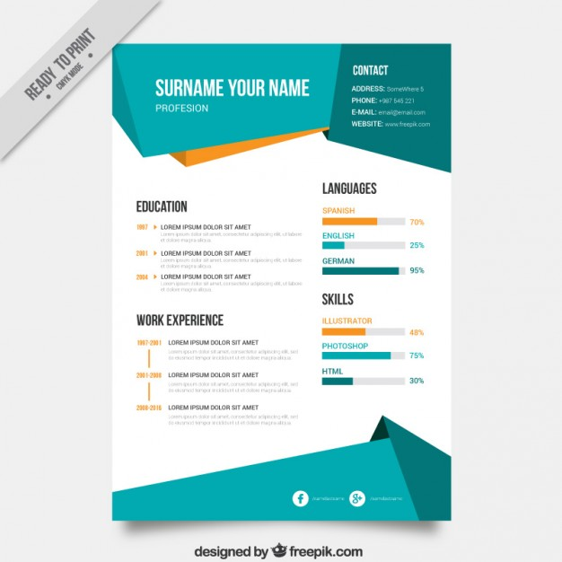 Infographic sales letter template