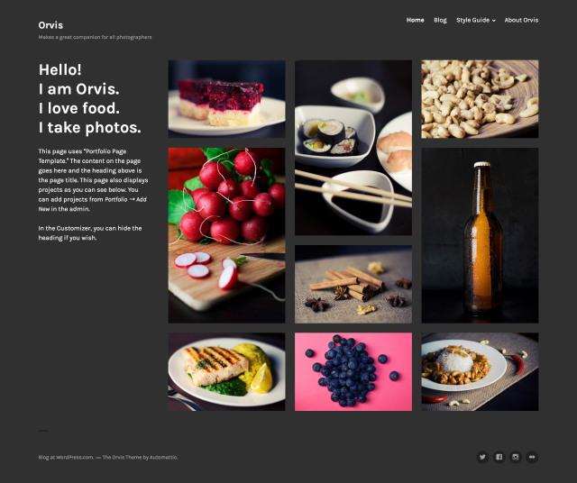 orvis-portfolio-page-template