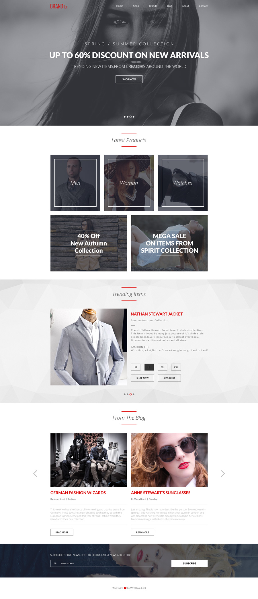Free-PSD-website-template