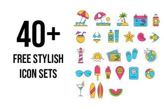40+ Free Big and Stylish Icons Sets for implementing any ideas!