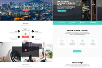 25 Free Wonderful HTML website templates for designers and developers!