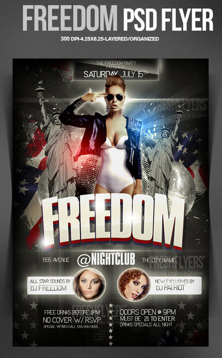 freedom_4th_of_july_psd_flyer_template_by_imperialflyers-d67at8l