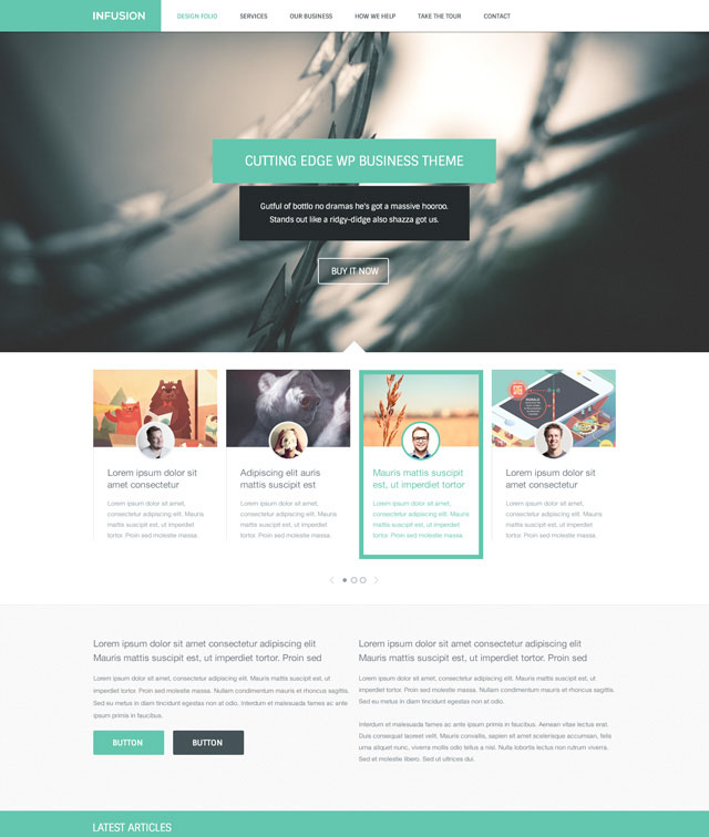 infusion-free-website-templates
