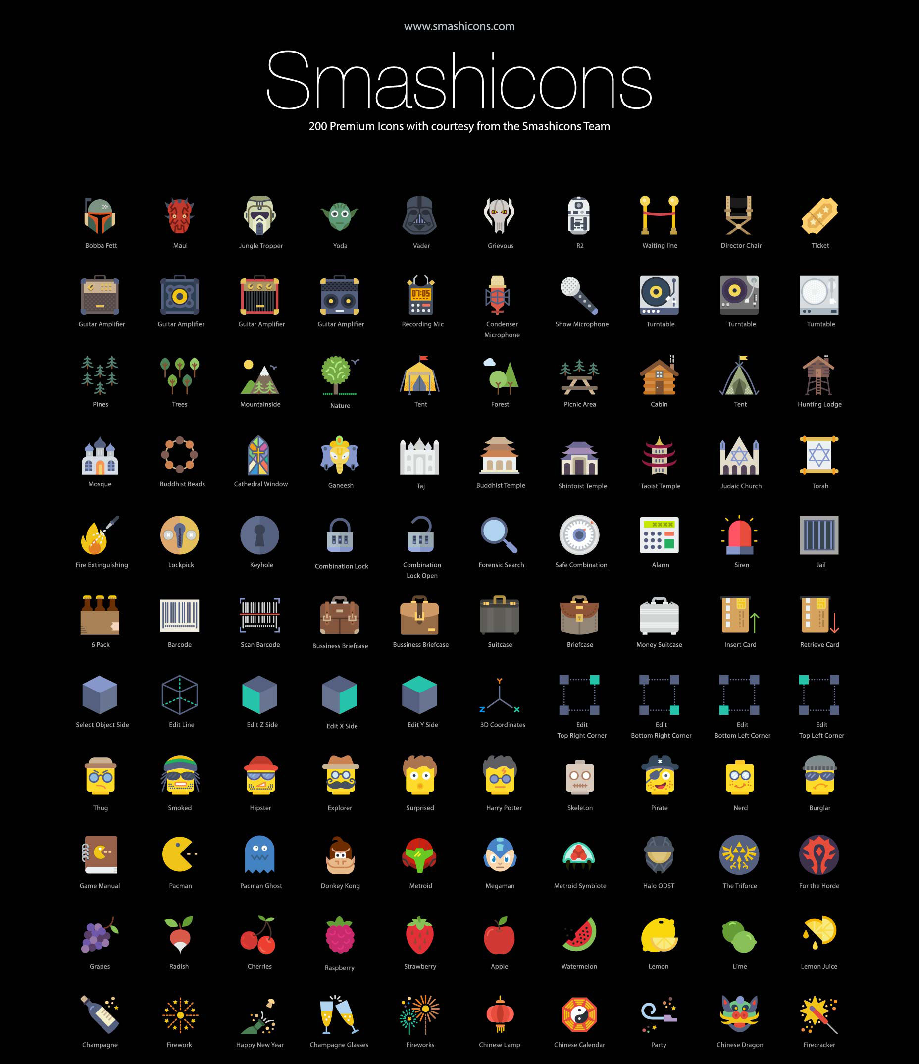 RetinaIcons - The Largest and Most Complete iOS Icon Set in the World