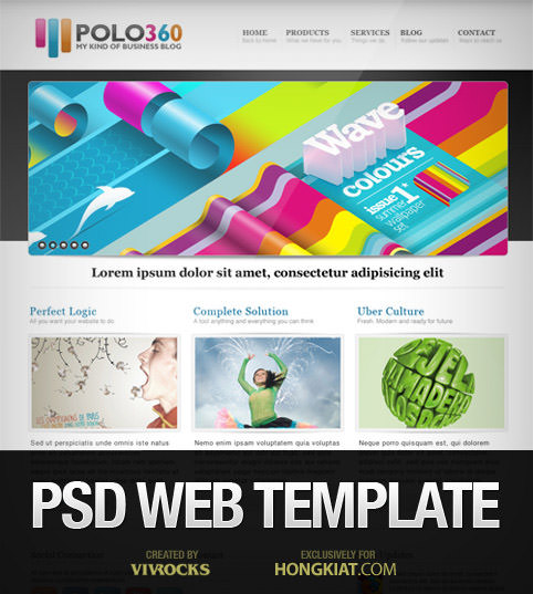 psd-web-template