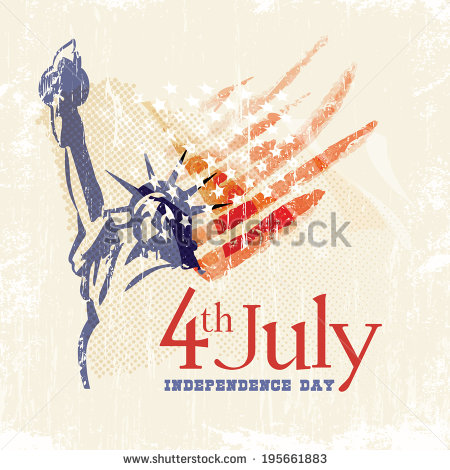 stock-vector-greeting-card-with-u-s-flag-and-statue-of-liberty-th-of-july-independence-day-of-united-states-195661883