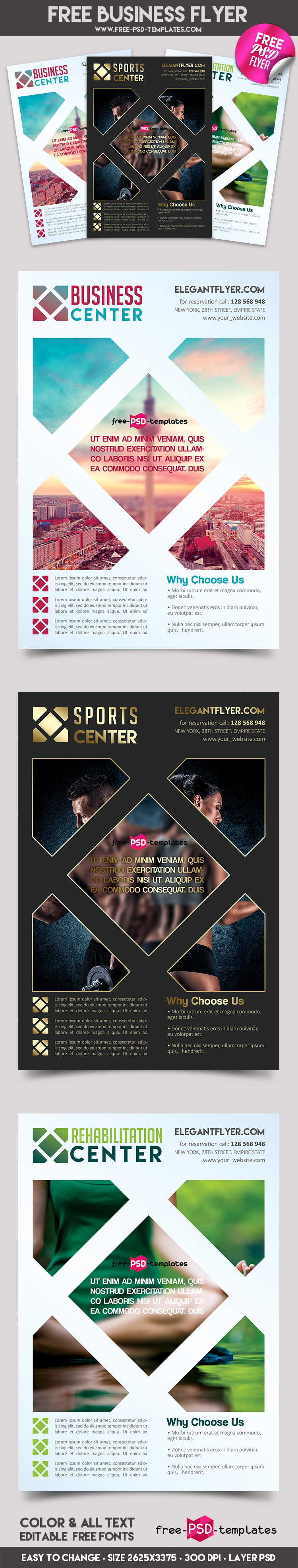 business flyer in psd psd templates preview business flyer