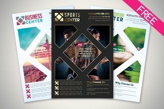 FREE Business Flyer IN PSD