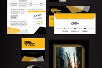 Corporate Identity – Free PSD Templates