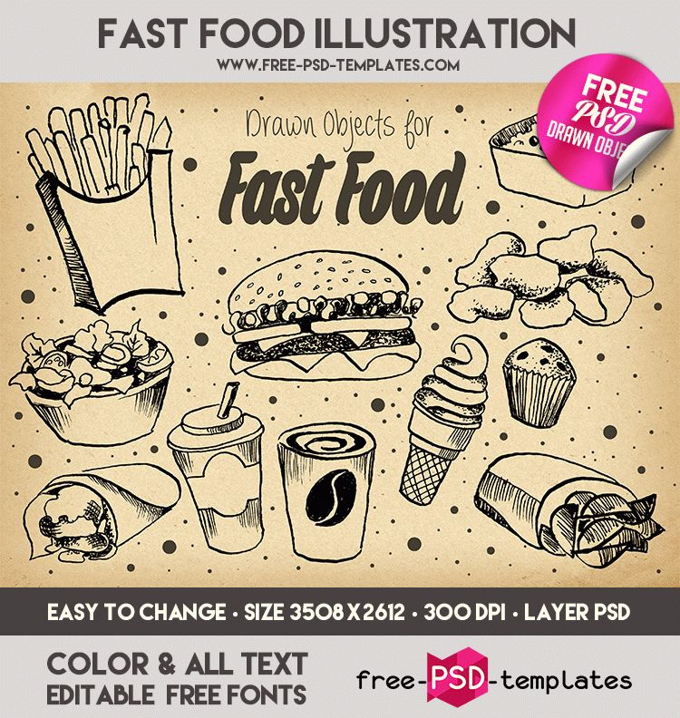 preview_fast_food_illustration_result