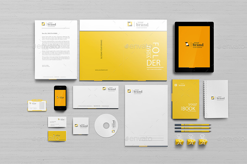 55 Free Branding Identity Mockups To Be Modern And Creative Free