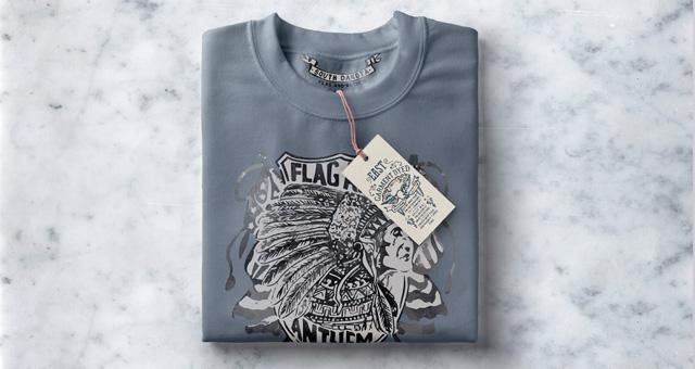 folded psd sweatshirt mockup free