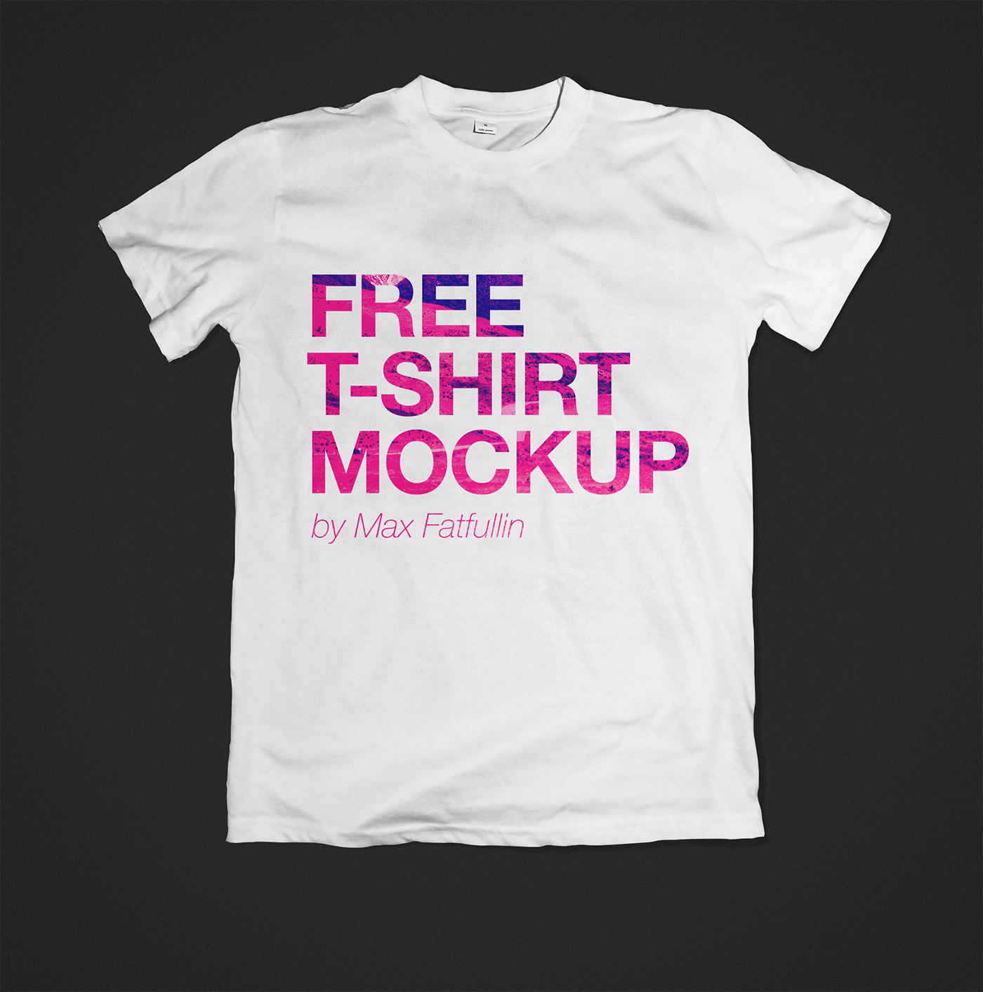 free t shirt mockup psd download