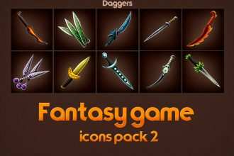 free-game-icons-of-fantasy-daggers-pack-2