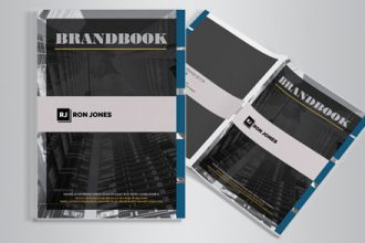 Free Brand Book 10 pages A4
