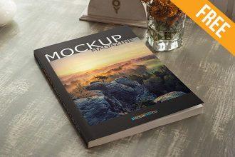 Magazine – Free PSD Mockup