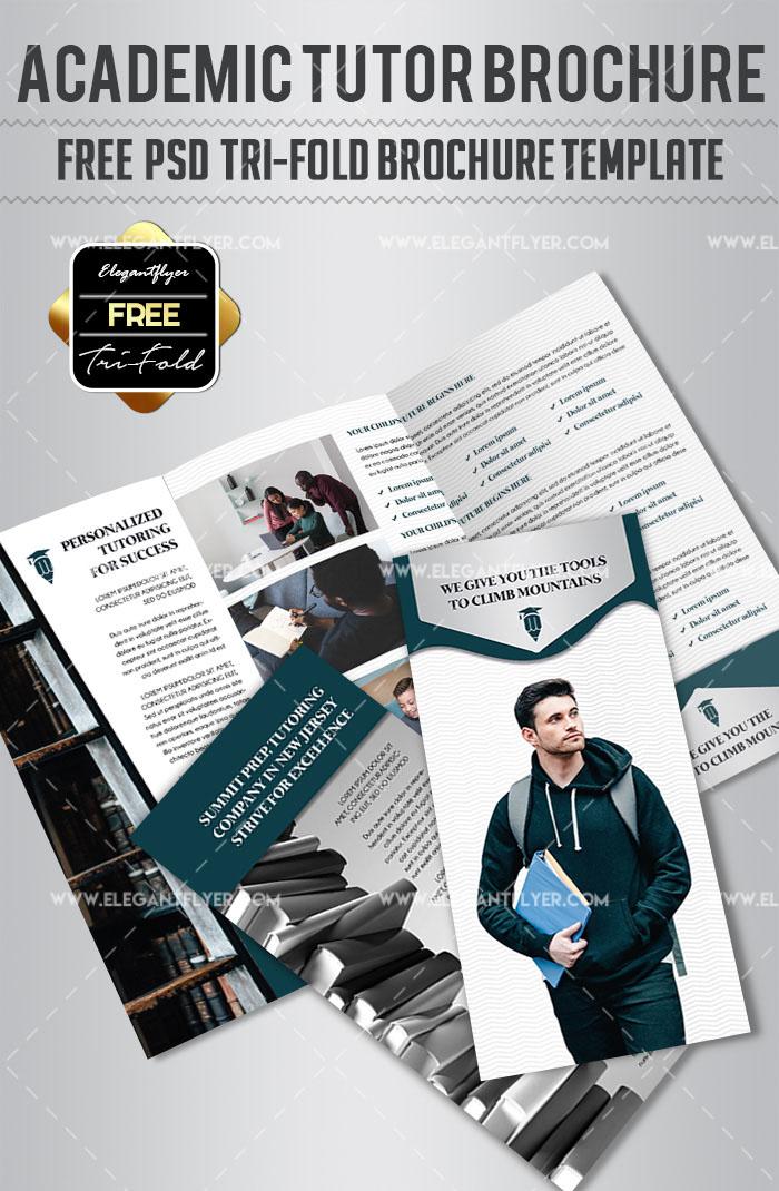 93 Premium And Free Psd Tri Fold Bi Fold Brochures Templates For