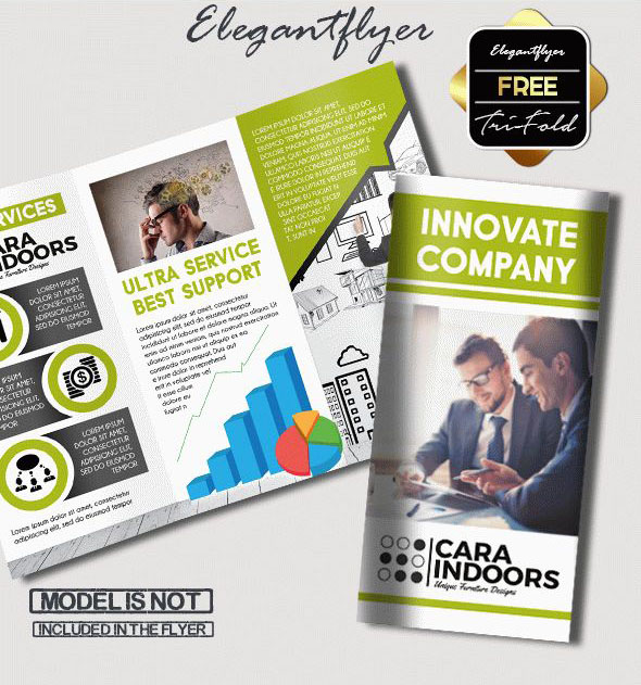 Free PSD TriFold BiFold Brochures Templates For Promoting - Brochure template ideas