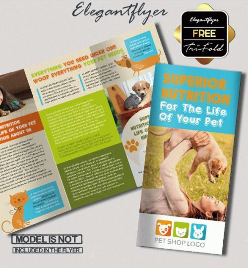 93 Premium And Free Psd Tri Fold Bi Fold Brochures Templates For