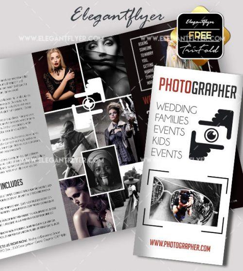 93 Premium And Free Psd Tri Fold Bi Brochures