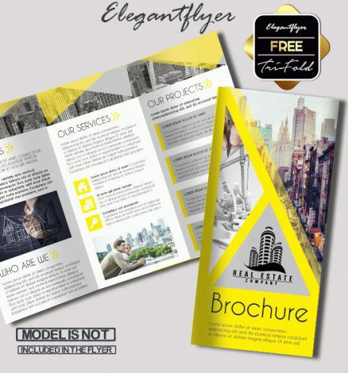 93+ Premium and Free PSD Tri-Fold & Bi-Fold Brochures Templates for
