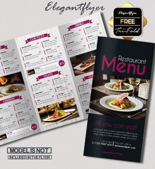 Free Psd Tri Fold Bi Brochures