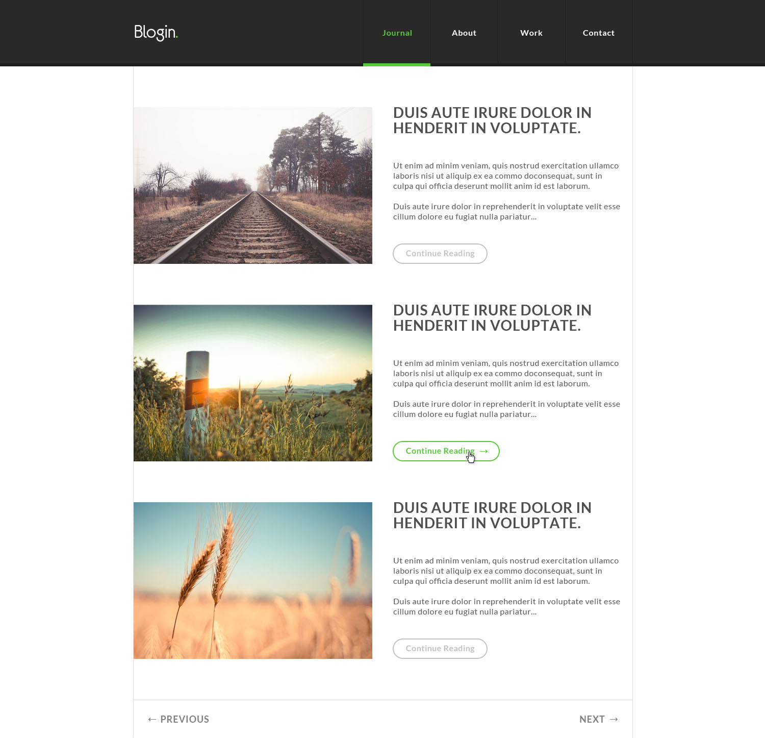 Blog: 30+ FREE PSD Blog Website Templates Only For Creative