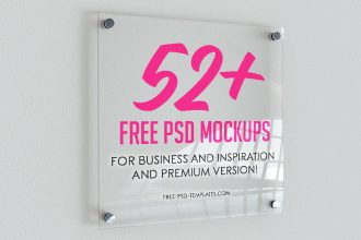 52+ Free PSD Mockups for business and inspiration and Premium Version!