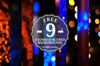 9 Free Gaussian Blured Backgrounds