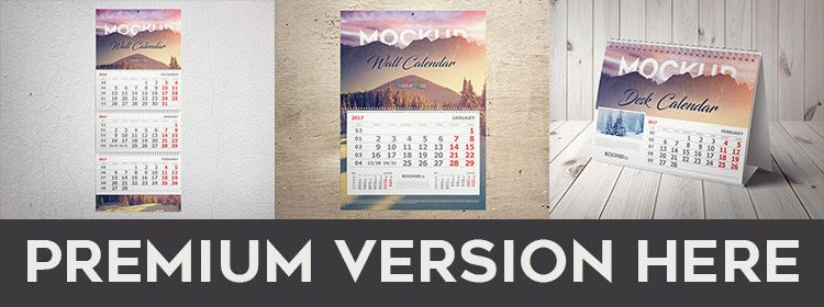 Free Desk Calendar Mock Up In Psd Free Psd Templates