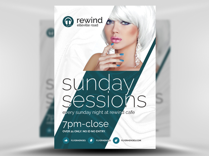 60 Free Flyer Templates In Psd Download And Customize Free Psd