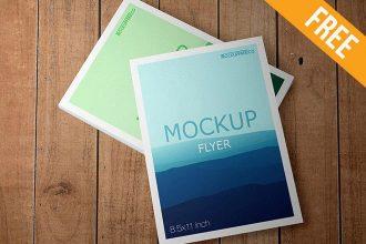 Flyer – Free PSD Mockup
