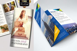 45+ Free PSD Tri-Fold & Bi-Fold Brochures Templates for promoting lots of ideas!