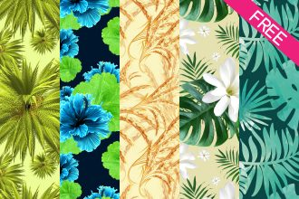FREE 5 Preview Seamless Patterns for Photoshop