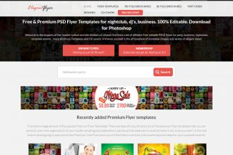 12 Best Recourses with Free Flyers templates!
