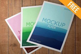 Flyer – 10 Free PSD Mockups