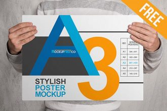 Poster – 10 Free PSD Mockups