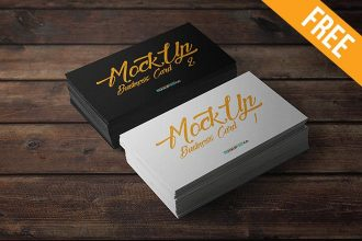 Business Card – 10 Free PSD Mockups