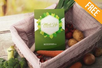 Fruit and Vegetable – 20 Free PSD Mockups