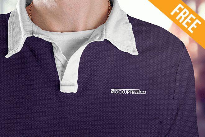 Man Polo Shirt 5 Free Psd Mockups Free Psd Templates