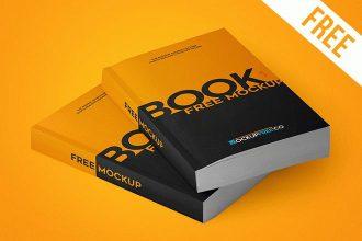 Paperback Book – 2 Free PSD Mockups