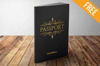 Passport – 10 Free PSD Mockups