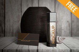 Perfume – 3 Free PSD Mockups
