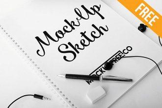 Sketch – 6 Free PSD Mockups