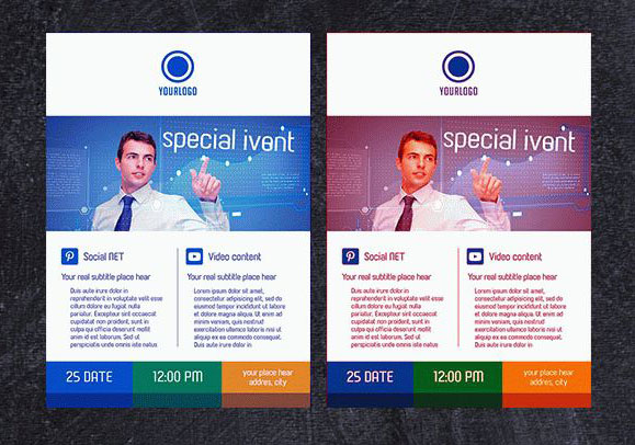 50 free premium psd business flyers brochures templates free special free business flyer psd template facebook cover flashek Images